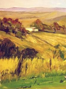 Oil on canvas - 30x40 - plein air painting