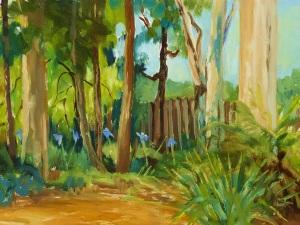 Plein air painting, oil on canvas - 40x30