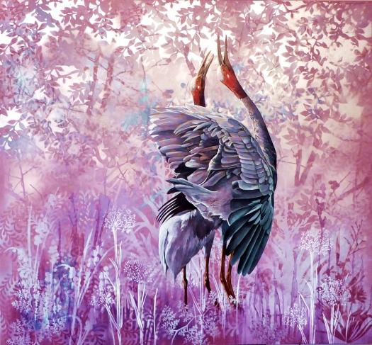 Duet - Sarus Cranes