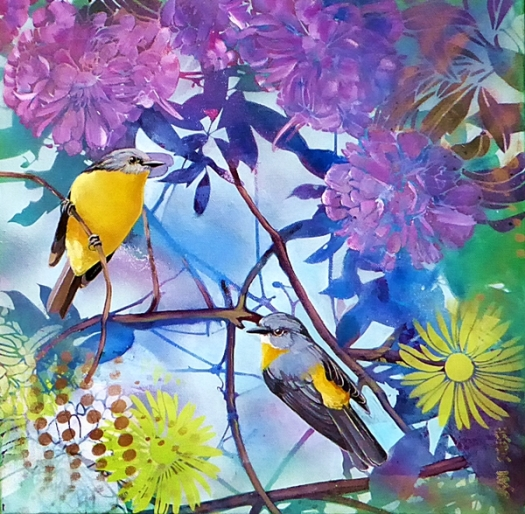 Rockin Robin #2 - Eastern Yellow Robin.web