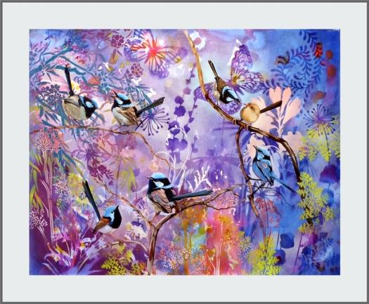 Garden Party #2 frame web