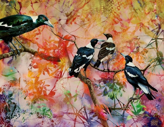 We are Family - australian magpies.web
